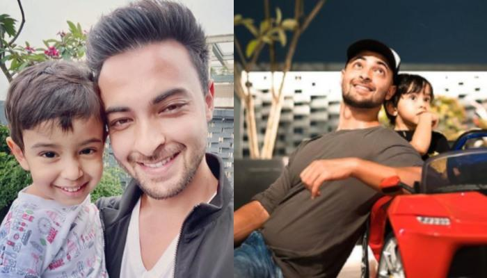 Ahil Sharma's 'Wanna Be Cool' Picture With Daddy, Aayush Sharma Is All About Father-Son Bond