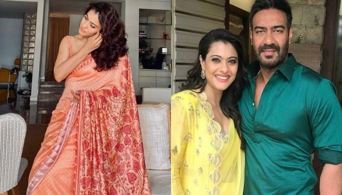 Kajol Dazzles In A Red Saree For Karwa Chauth, Shares Her Different Moods Waiting For 'Chaand'