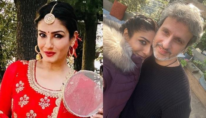 Raveena Tandon Is Away From Her Husband, Anil Thadani On Karwa Chauth In 16 Years Of Marriage