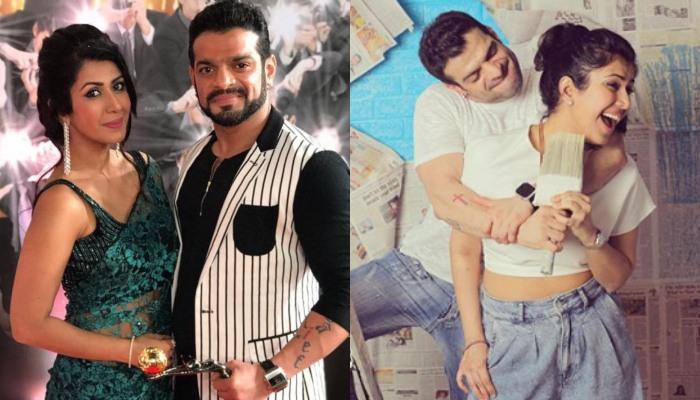 Ankita Bhargava Convinces Karan Patel To Click Pictures With Her, His Reaction Is Every Husband Ever