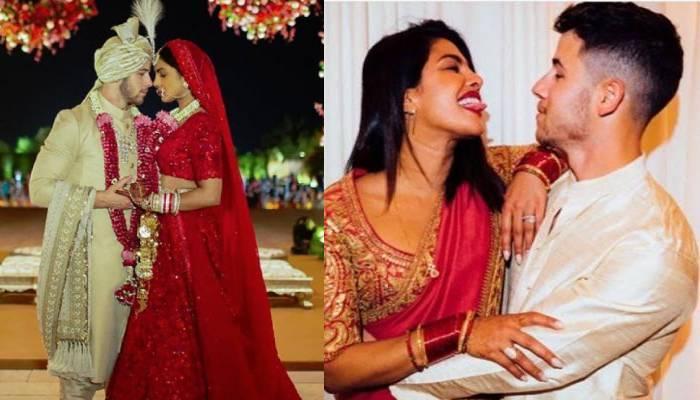 प्रियंका चोपड़ा की करवा चौथ की तस्वीरें आईं सामने, पति निक संग रोमांटिक अंदाज में दिखी एक्ट्रेस