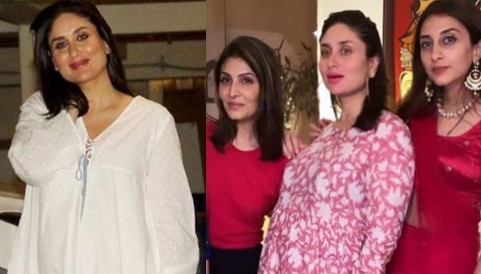 करवा चौथ पर फैमिली डिनर एंजॉय करने पहुंचीं प्रेग्नेंट करीना कपूर खान, सामने आई बेबी बंप की तस्वीर