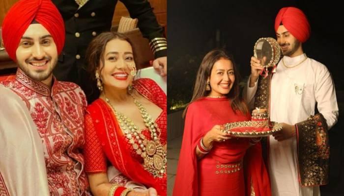 नेहा कक्कड़ ने कुछ यूं मनाया अपना पहला करवा चौथ, त्यौहार में चार-चांद लगा रहीं ये खूबसूरत तस्वीरें