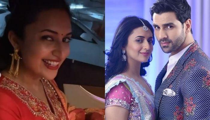 Divyanka Tripathi Calls Her 'Karwa Chauth' Outfit, 'Extra Aadmi', Hubby Vivek Dahiya Makes Fun Of It