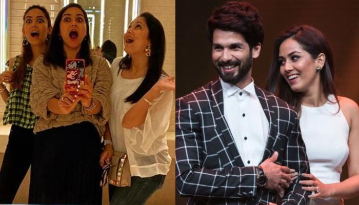 Mira Rajput Kapoor Recalls Festive Days With Her Girlfriends, Shahid Kapoor Drops A 'Pretty' Comment