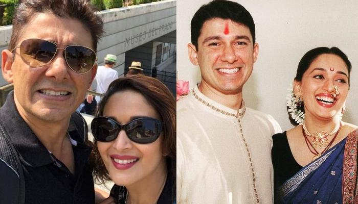 Madhuri Dixit's Husband, Shriram Nene Shares A Picture With His Wife, Pens A Cute Note