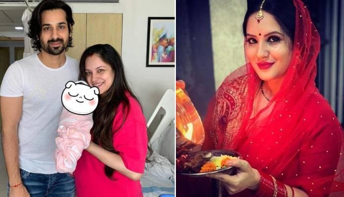 बेटे के जन्म को 4 सप्ताह पूरे होने पर पूजा बनर्जी ने शेयर की क्यूट फोटोज, सजी-धजी नजर आईं एक्ट्रेस