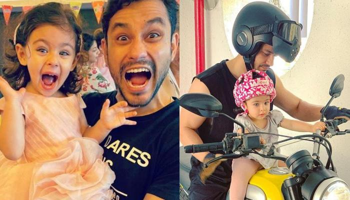 Kunal Kemmu Shared A Jaw-Dropping Artwork Of Him Going On A Bike Ride With His Baby Girl, Inaaya