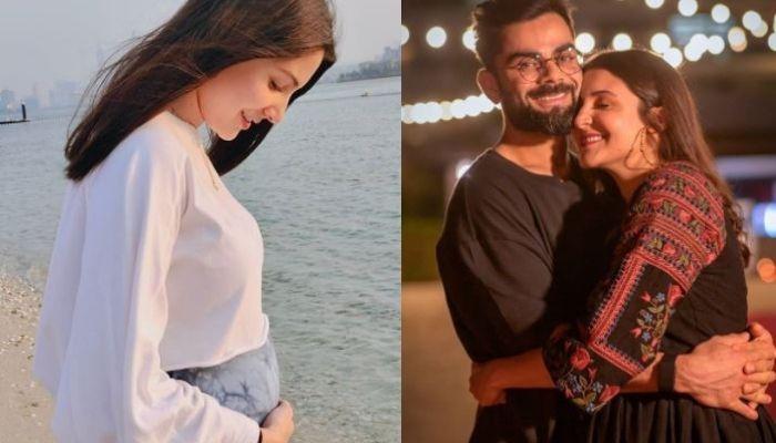 Anushka Sharma Wears Hubby, Virat Kohli's Team Colour To Cheer For Him, Radiates Pregnancy Glow