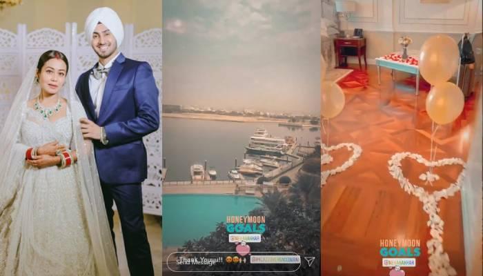 नेहा कक्कड़ और रोहनप्रीत हनीमून के लिए पहुंचे दुबई, शेयर किया होटल रूम का खूबसूरत वीडियो