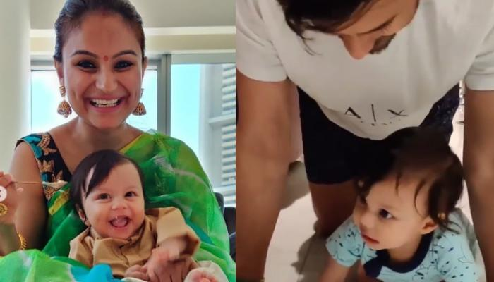 Dimpy Ganguly Can't Hold Her Happiness As Aryaan Begins Crawling, Shares Glimpses Of Her Munchkin
