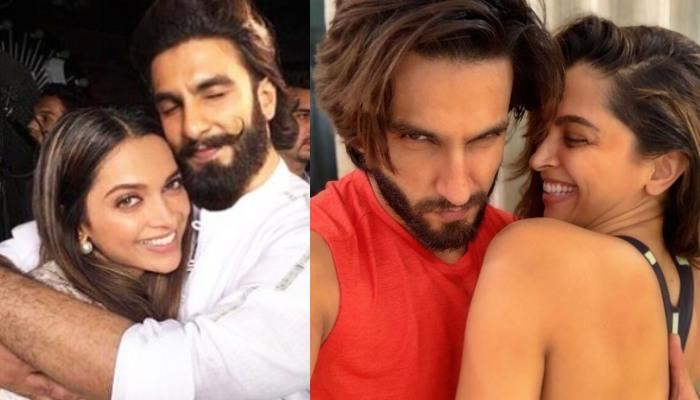 Ranveer Singh Shares A 'Down And Dirty' Picture Of Himself, Wifey, Deepika Padukone Reacts Twice