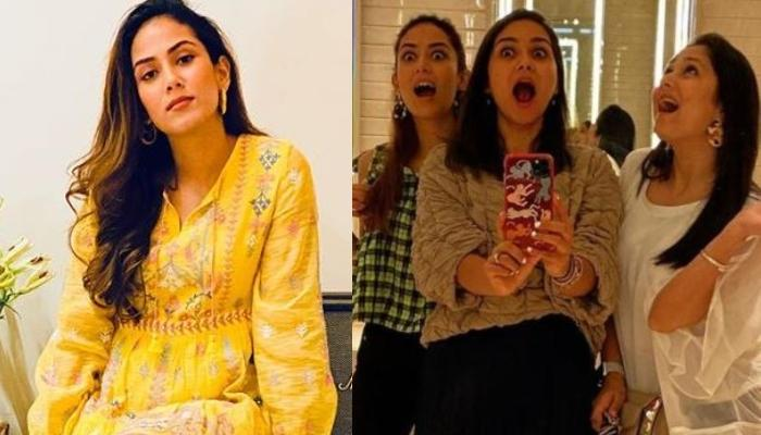 Mira Kapoor's BTS With Sisters, Noor And Priya Before Clicking A Picture Together Is Every Girl Ever