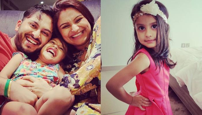 Dimpy Ganguly's Daughter, Reanna Dresses Up In A Cute 'Lehenga-Choli' For Diwali Celebrations
