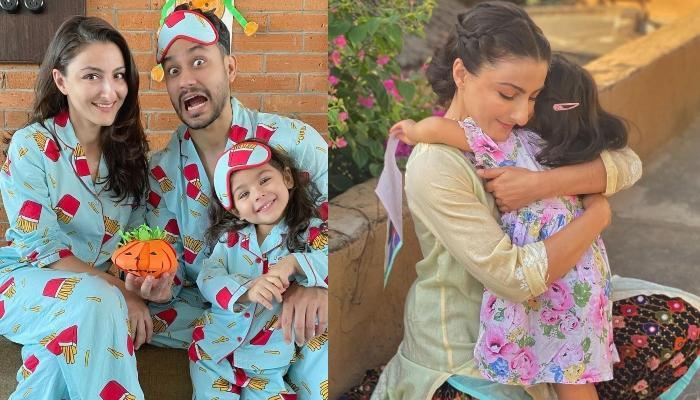 Inaaya Naumi Kemmu Helps Mommy, Soha Ali Khan In Making 'Rangoli' For The Diwali Puja