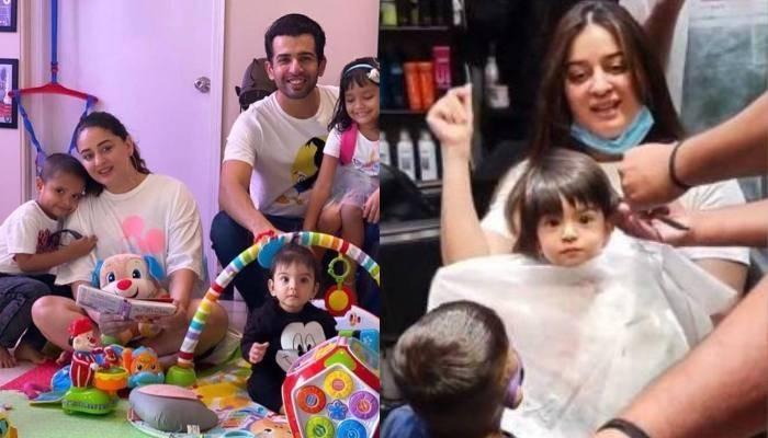 माही विज ने बेटी तारा का कराया हेयर कट, वीडियो में देखें भाई राजवीर व बहन खुशी ने कैसे की मदद