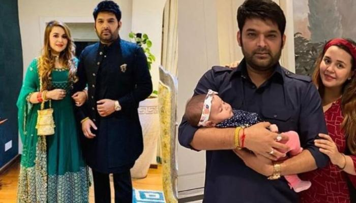 Kapil Sharma's Daughter, Anayra Celebrates Her First Diwali, Twins In Black With Daddy And Mommy