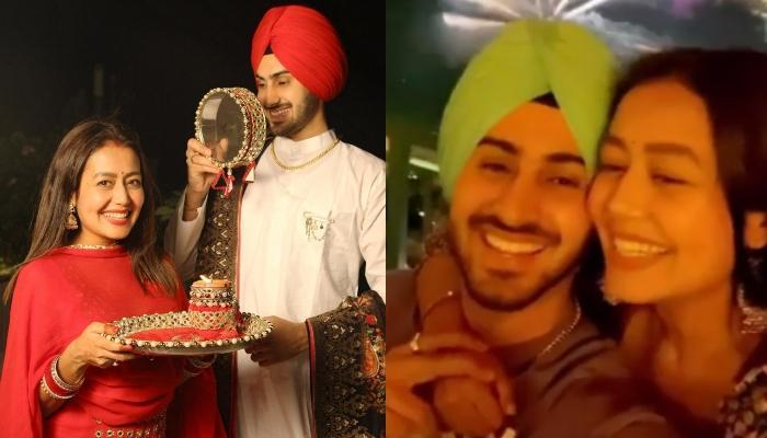 Rohanpreet Singh And Neha Kakkar Celebrate Their First Diwali Together In Dubai