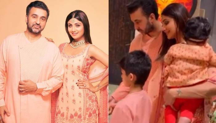 Shilpa Shetty Kundra Shares Cute Video As She Celebrates Her Daughter, Samisha's First Diwali