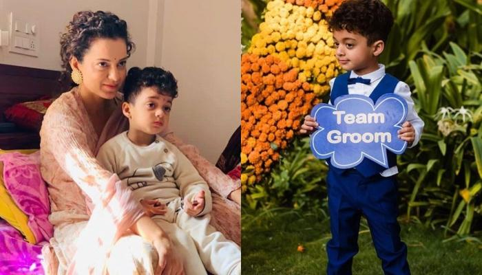 Kangana Ranaut Proves She's The Coolest 'Maasi' Ever, Celebrates Nephew, Prithvi's Third Birthday