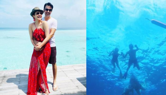 Kajal Aggarwal And Gautam Kitchlu's Scuba Diving Photos Give A Glimpse Of Their 'Coolest' Honeymoon