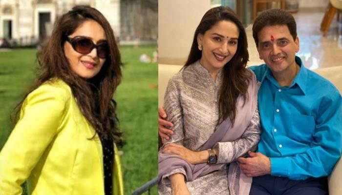 Madhuri Dixit Misses Her Brother Ajit Dixit On Bhai Dooj, Shares An Adorable Unseen Picture With Him