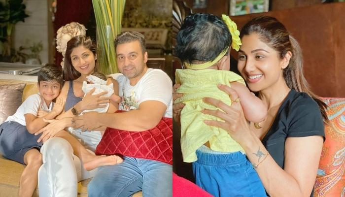 Shilpa Shetty Shares A Video Of Her Baby Girl, Samisha Celebrating Her First Bhai Dooj With  Viaan