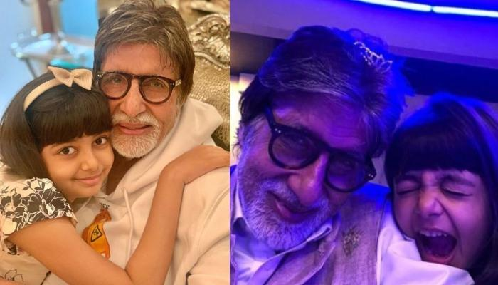 Amitabh Bachchan Shares A Collage Of Pictures To Wish His Angel Aaradhya Bachchan On 9th Birthday