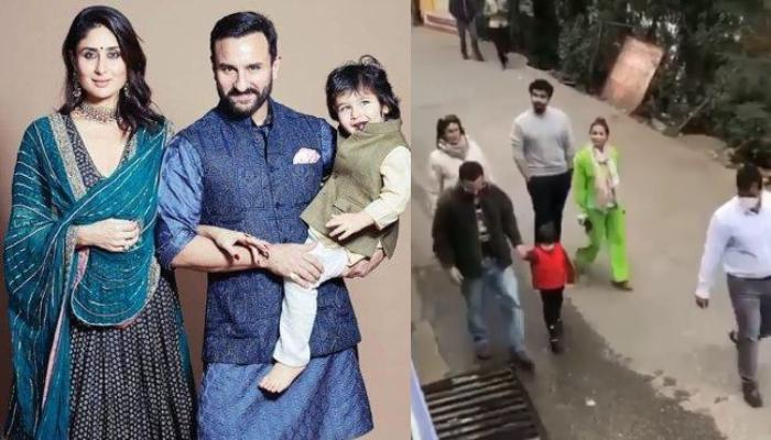 Taimur Yells 'No Photo' While Walking With Parents, Kareena Kapoor And Saif Ali Khan In Dharamshala