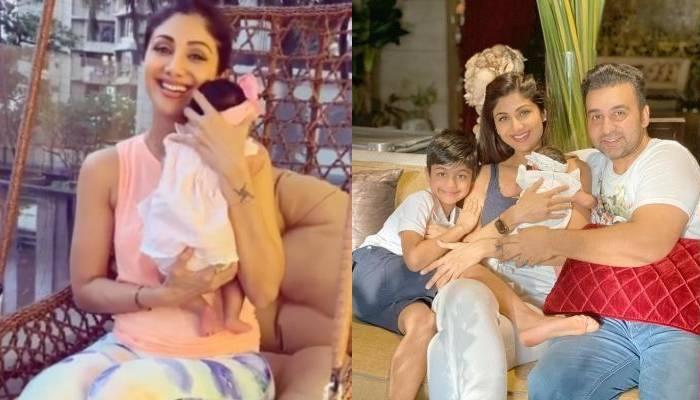 शिल्पा शेट्टी की बेटी समीशा ने भाई वियान संग मनाया अपना पहला 'भाई दूज', एक्ट्रेस ने शेयर किया वीडियो