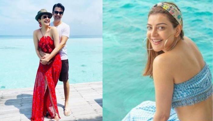 काजल अग्रवाल ने शेयर की हनीमून की खास तस्वीरें, पति गौतम संग 'स्कूबा डाइविंग' करती आईं नजर