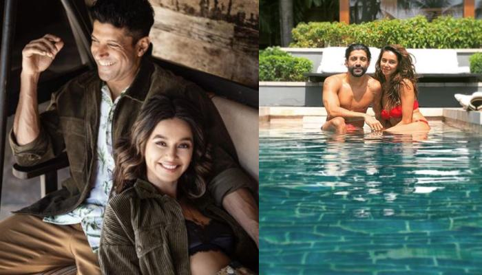 Farhan Akhtar And Shibani Dandekar's Sunset Moment In A Pool At Maldives Is Every Couple's Dream