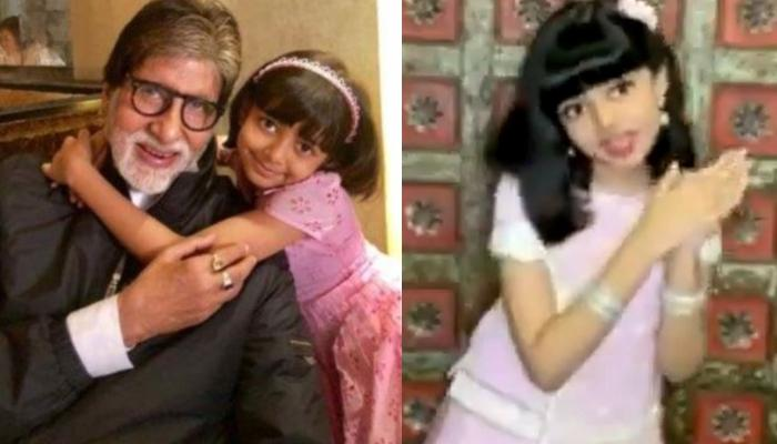Amitabh Bachchan Retweets A Video Of His Granddaughter, Aaradhya Bachchan Singing A Devotional Song