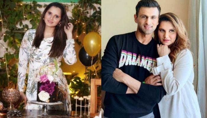 Inside Pictures Of Sania Mirza's 34th Birthday Celebration, Gets A Surprise From Hubby, Shoaib Malik