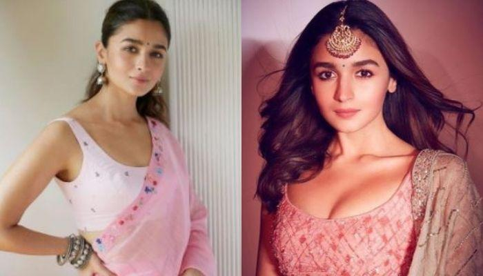 Alia Bhatt's 'Diwali Lehenga' Has 35 Kids' Paintings Crafted Over It In A Span Of 4 Months [Video]