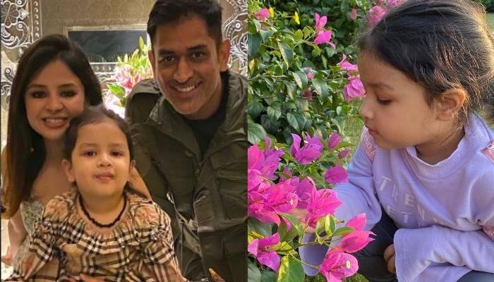 दुबई में एंजॉय कर रही है धोनी की फैमिली, सामने आईं बेटी जीवा की क्यूट तस्वीरें व वीडियो
