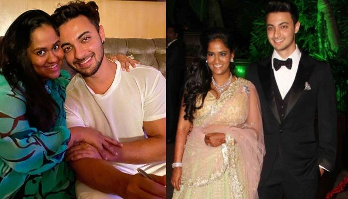 Unseen Pictures Of Arpita Khan Sharma And Aayush Sharma From 'Grih Pravesh' Ceremony Post-Wedding