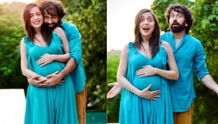 'Ishqbaaaz' Fame, Nakuul Mehta's Wife, Jankee Flaunts Her Baby Bump In A Yellow 'Angrakha Suit'