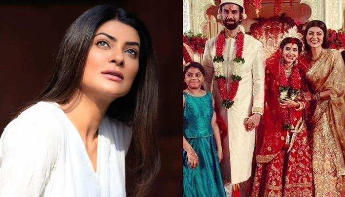 On Sushmita Sen's 45th Birthday, Her Brother, Rajeev Sen And His Wife, Charu Asopa Share Cute Wishes