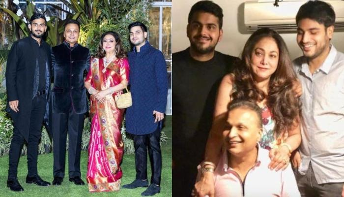Tina Ambani Shares Unseen Clicks Of Husband, Anil Ambani With Sons On International Men's Day