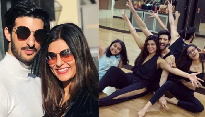 Sushmita Sen Talks About Falling In Love With Rohman Shawl And His Equation With Renee And Alisah