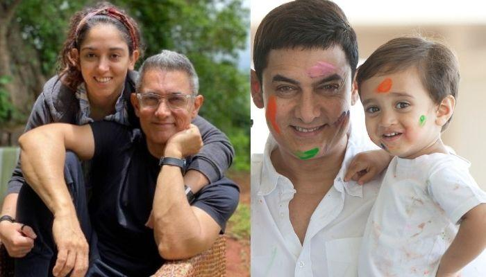 Aamir Khan's Daughter, Ira Khan Shares Diwali Glimpses With Step-Bro, Azad, Twins In Orange Outfits