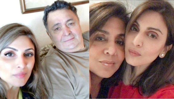 When Riddhima Kapoor Was Smothered With Kisses By Late Father, Rishi Kapoor And Mother, Neetu Kapoor
