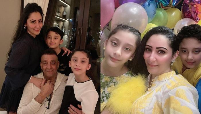 Maanayata Dutt Shares A Beautiful Picture With Her Kids, Shahraan And Iqra On World Children's Day