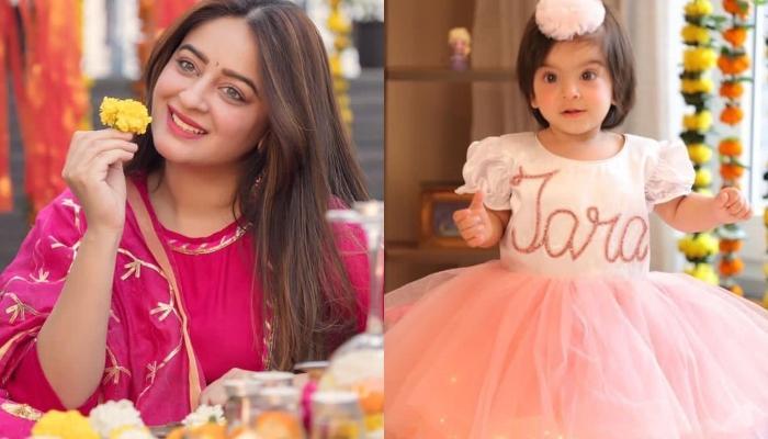 Mahhi Vij And Jay Bhanushali Share Their Daughter, Tara Bhanushali's Post 'Mundan' Look [VIDEO]