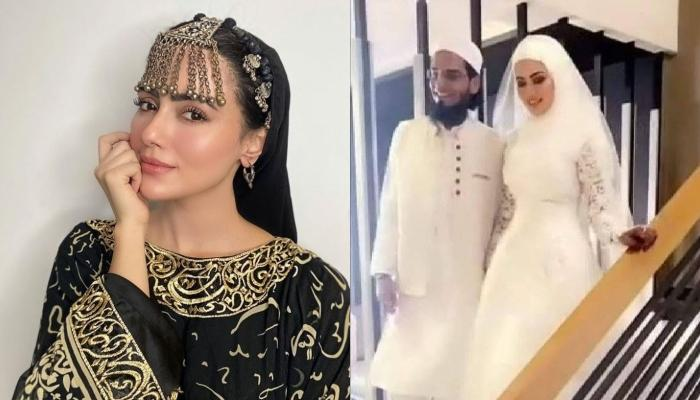 Sana Khan Gets Married To Mufti Anas From Gujrat After Quitting Bollywood [Pictures Inside]