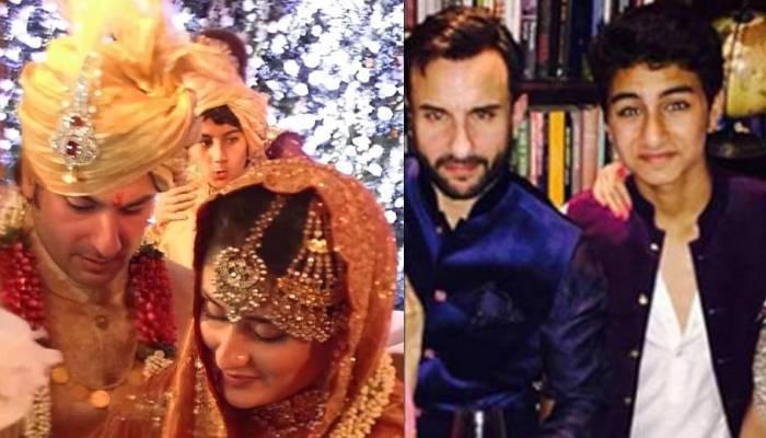 पिता सैफ की दूसरी शादी में मैचिंग शेरवानी पहनकर पहुंचे थे इब्राहिम, बन गए थे महफिल की शान