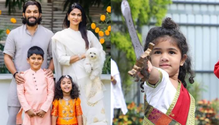 Allu Arjun And His Wife Sneha Reddy Share Cutest Wishes For Their Daughter, Arha On Her 4th Birthday