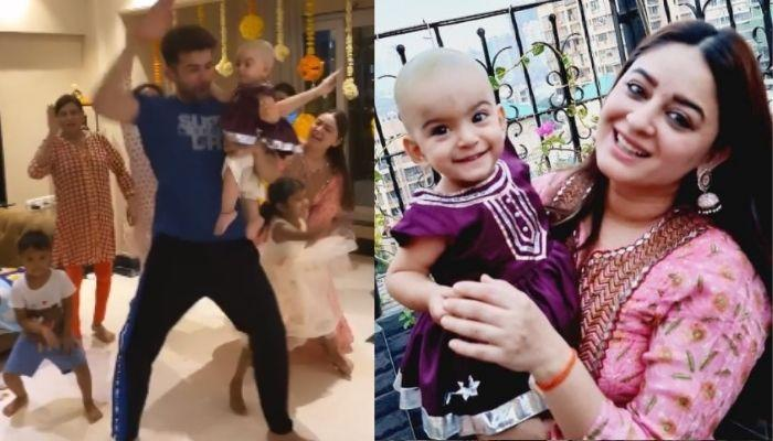 Mahhi Vij, Jay Bhanushali, Khushi And Rajveer Dance On 'Bala' As Tara Goes Bald Post-Mundan [Video]