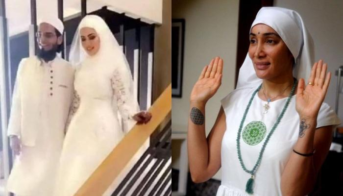 Netizens Troll Sana Khan For Marrying A Maulana After Quitting Bollywood, Compare Her To Sofia Hayat